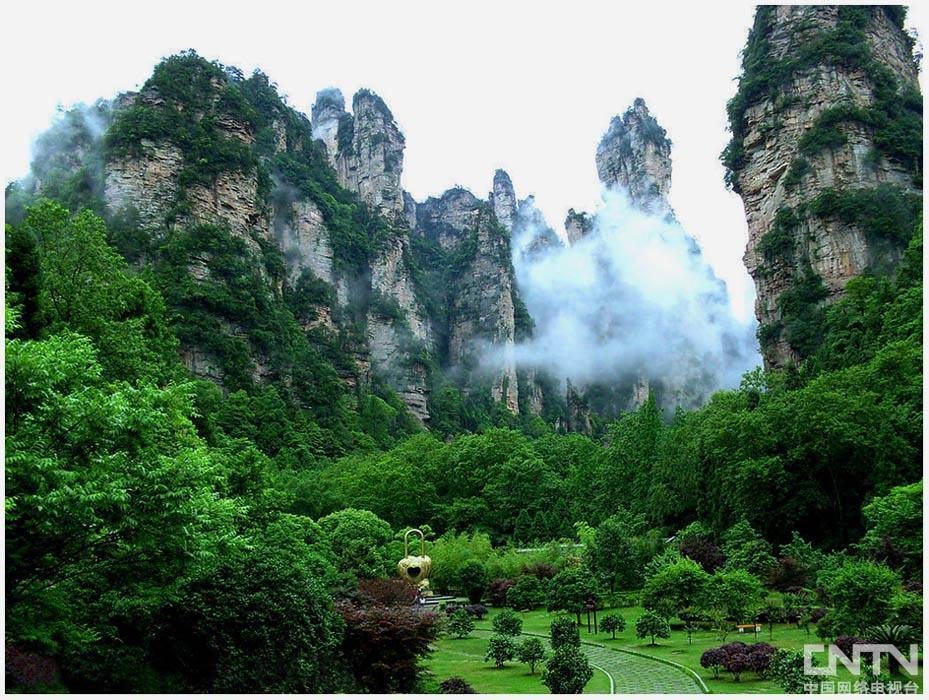 《行走中国》湖南张家界、凤凰古城风光