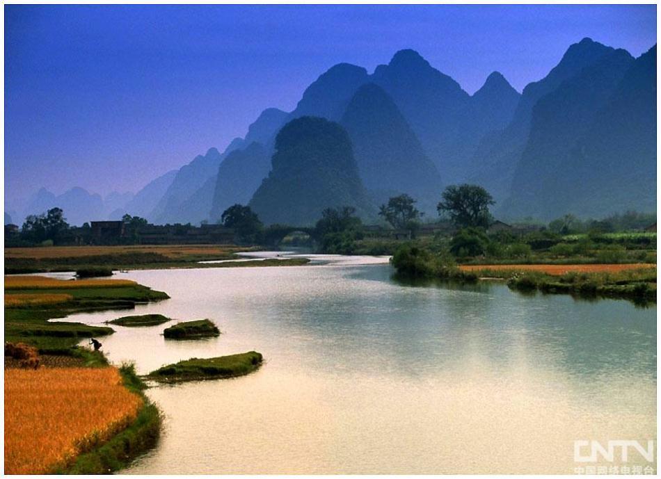 《行走中国》广西桂林漓江、龙脊梯田风光