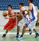 [高清组图]男篮亚青赛:中国胜菲律宾