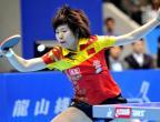 [高清组图]乒乓球精英赛:李晓霞夺冠