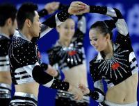 [高清组图]健美操:中国队获得有氧舞蹈冠军