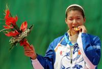 [高清组图]女子飞碟双多向120靶个人赛杨晓辉夺冠
