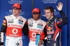 [高清组图]F1韩国大奖赛排位赛 汉密尔顿获杆位
