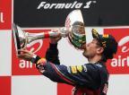 [高清组图]维特尔夺得F1印度站历史首冠