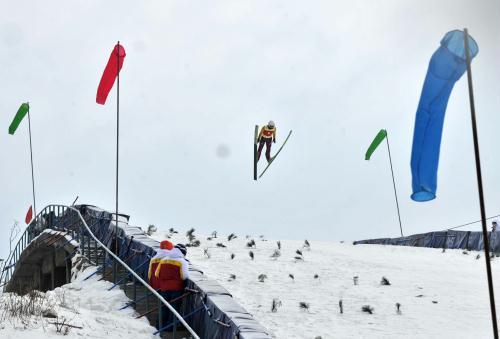 冬运会首金诞生 马彤跳台滑雪登顶东道主揽前三