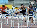 [高清组图]川崎赛刘翔13秒09夺冠 破赛会纪录