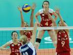 [高清组图]中国女排3-0波兰 大奖赛佛山站夺冠