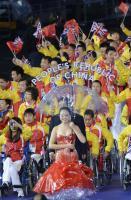 [高清组图]伦敦残奥会开幕式 中国代表团入场