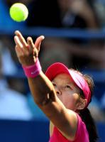 [高清组图]李娜横扫德拉奎尔 轻松晋级美网32强