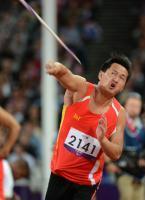 [高清组图]残奥田径-高明杰夺男子标枪F44级金牌