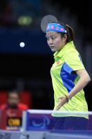 [高清组图]伦敦残奥乒乓球女单8级:茅经典夺冠