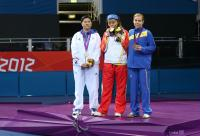 [高清组图]残奥乒乓球女单5级:中国包揽金银