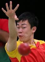[高清组图]硬地滚球中国队进混合团体BC1-2级决赛