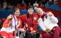 [高清组图]中国香港选手获女子个人花剑A级冠军