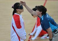 [高清组图]残奥会女子盲人门球 中国队获得亚军