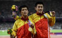 [高清组图]薛雷/王琳夺得男子100米T11级金牌
