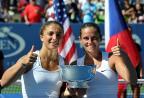 [高清组图]埃拉尼/文奇组合摘得美网女双冠军