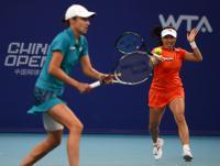 [高清组图]中国网球公开赛 郑洁组合无缘决赛