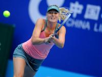 [高清组图]中国网球公开赛 莎拉波娃晋级四强