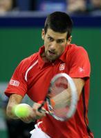 [高清组图]ATP上海大师赛德约科维奇晋级决赛
