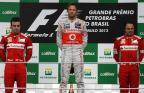 [高清组图]F1巴西分站 巴顿稳定发挥夺分站冠军