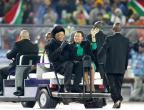 [高清组图]世界杯闭幕式 前南非总统曼德拉现身