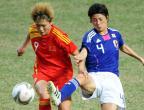 [高清组图]足球:女足:中国队无缘决赛