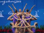 [高清组图]花样游泳:集体:中国队夺冠
