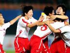 [高清组图]足球:女足半决赛:朝鲜胜韩国