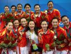 [高清组图]花样游泳——中国队无悬念夺冠