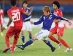 [高清组图]足球——男足决赛:日本夺冠
