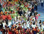 [高清组图]各代表团在亚运会闭幕式上入场